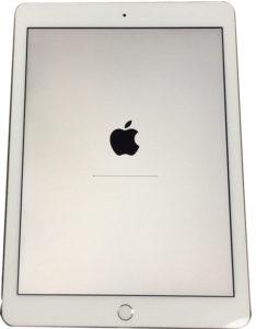 iPadリカバリー開始画面