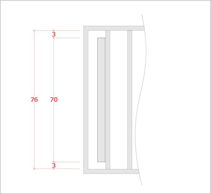 縦位置をまんなかに貼る計算例